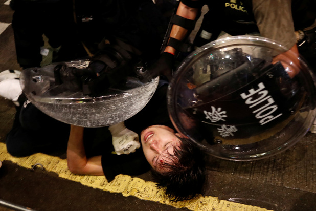'Hongkong is de laatste buitenpost van de vrije wereld. Hoe ver laten we de repressie nog komen?'
