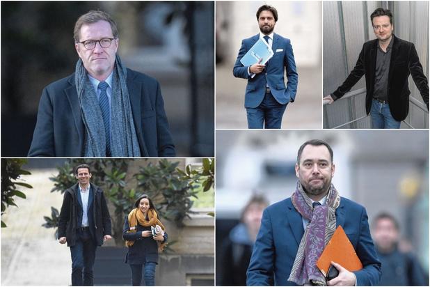 Bouchez, Magnette, Nollet, Maouane, Prévot, De Smet... Emancipés, les nouveaux présidents ?