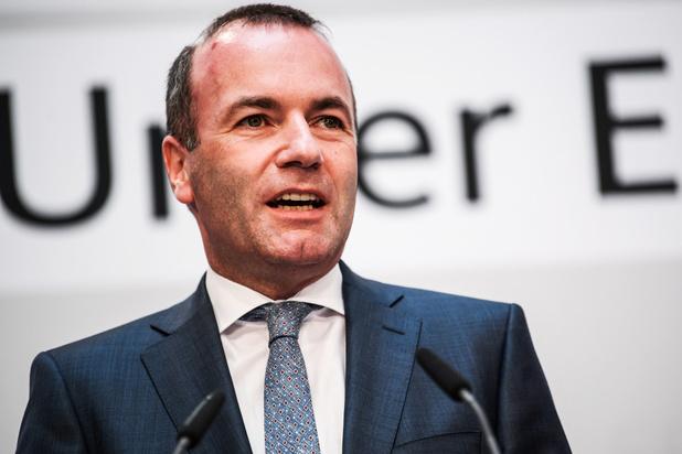 Manfred Weber herverkozen als fractieleider van de EVP