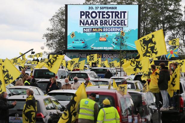 Les partisans du Vlaams Belang en masse vers le Heisel