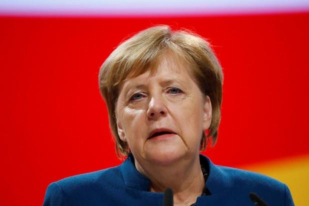 Ukraine: Angela Merkel félicite Zelensky, l'assure du soutien de l'Allemagne