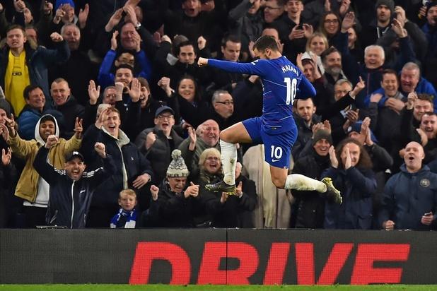 Eden Hazard maakt kans op prijs voor Speler van het Jaar in Engeland