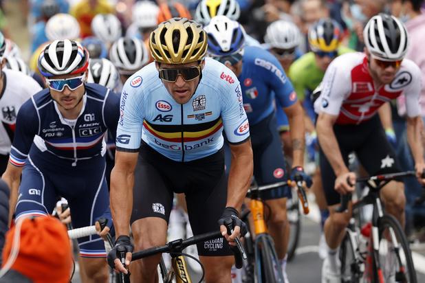 Liège-Bastogne-Liège: multiples fractures pour Van Avermaet après sa chute