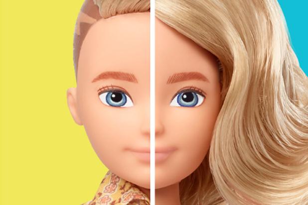 Mattel lance des poupées non genrées