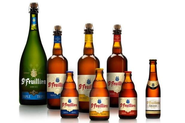 Une bière bio et sans alcool pour la brasserie Saint-Feuillien