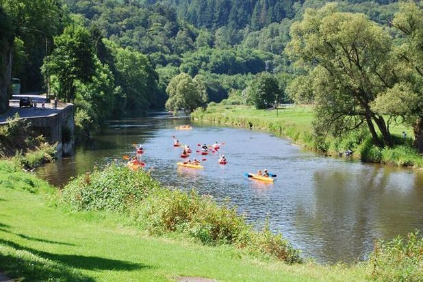 Kayak interdit sur l'ensemble des cours d'eau non navigables en Wallonie