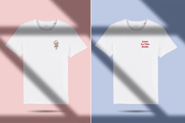 Gentse webshop Kaart Blanche lanceert humoristische T-shirts