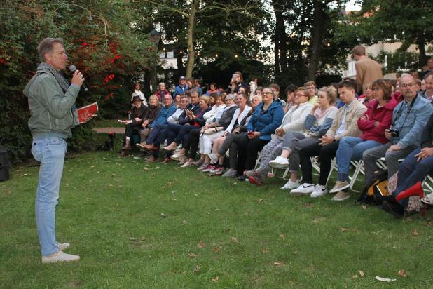 Programma Filmfestival Oostende voorgesteld tijdens 'Film in het park'