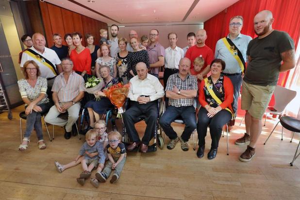 Torhoutse ereschepen viert 70ste (!) huwelijksverjaardag