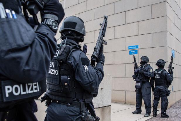 Fusillade en Allemagne: la police a interpellé un individu