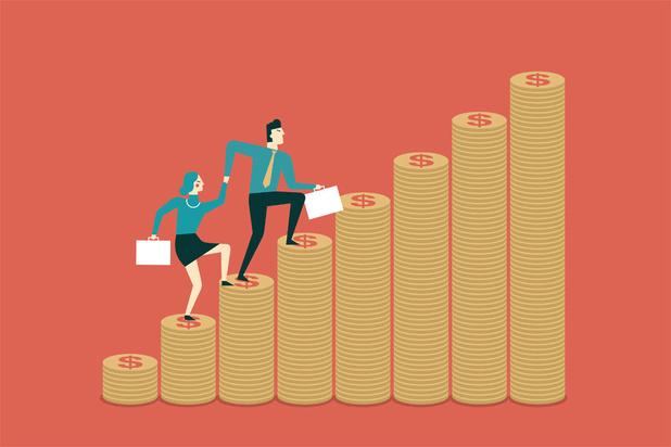 Mediaanloon in België kwam in 2017 uit op 3.140 euro bruto