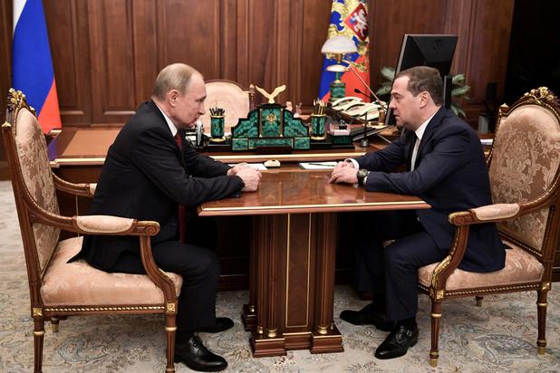 Russische regering neemt ontslag