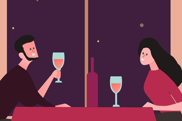 Saint-Valentin atypique: un dîner aux chandelles dans un hôtel