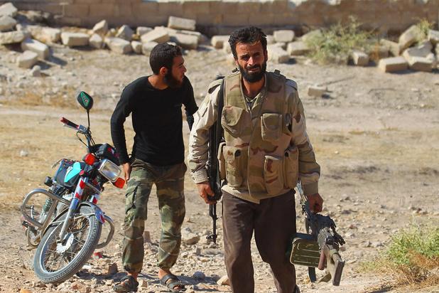 Syrische rebellen heroveren strategisch belangrijke stad