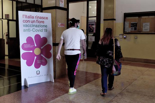 En Italie, l'extension du pass sanitaire dope la vaccination