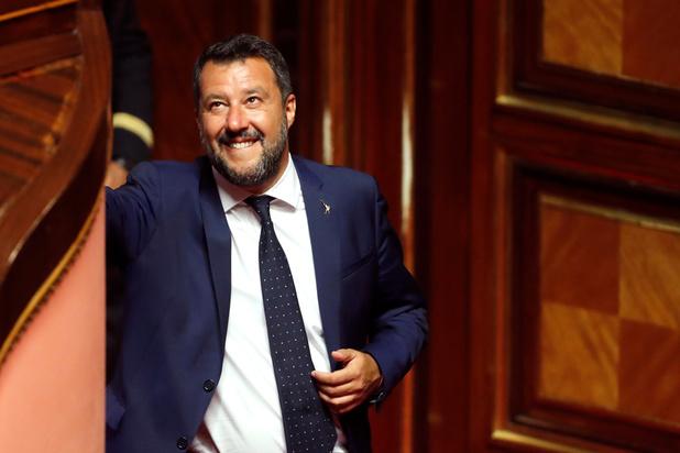 Lega-leider Salvini roept op om op 19 oktober in Rome te betogen