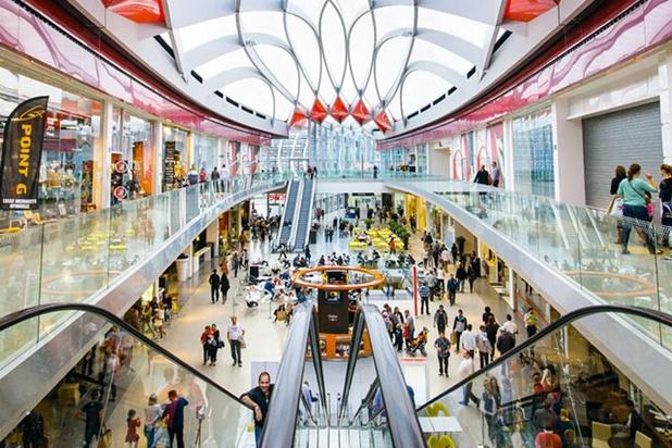 Les grands centres commerciaux belges ont enregistré plus de 17% de visiteurs supplémentaires