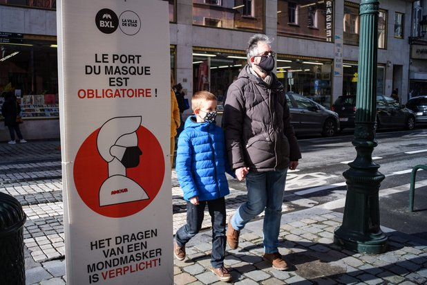 Covid: la situation continue de s'améliorer à Bruxelles (carte interactive)