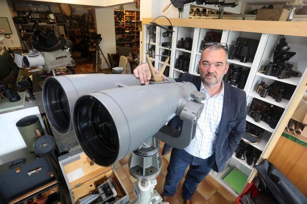 """Garagehouder Francis Vermeire verzamelt historische kijkers: """"Al ruim 40 jaar mee bezig"""""""