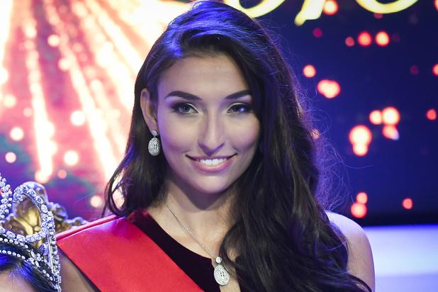 Dhenia Covens, 2e dauphine de Miss Belgique 2018, et peut-être bientôt Miss Univers