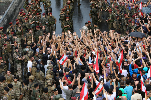 Au Liban, la foule dit Non mais cherche ce qu'elle veut