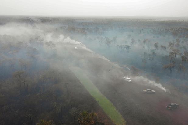Brazilië weigert noodhulp van G7 voor bosbranden Amazonewoud