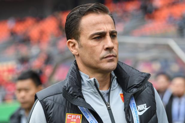 Fabio Cannavaro quitte son poste de sélectionneur chinois après... deux matches