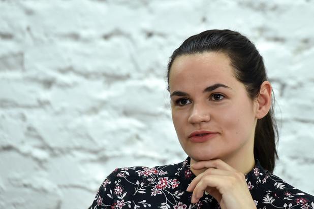 """Tikhanovskaïa, cette """"femme ordinaire"""" devenue égérie du Bélarus"""