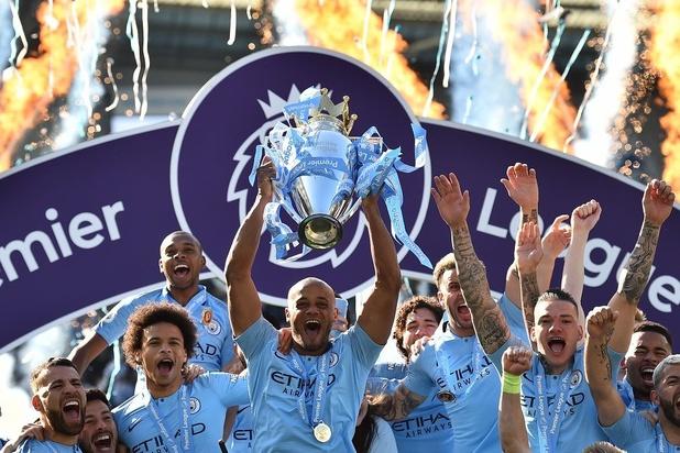 Manchester City, Kompany et De Bruyne sacrés champions d'Angleterre devant Liverpool (vidéos)