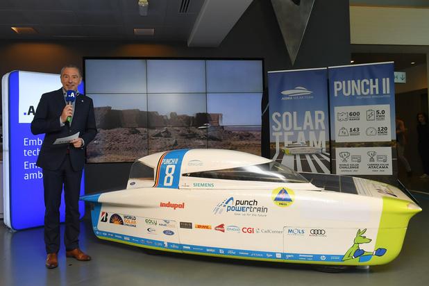 L'équipe belge Agoria Solar Team remporte le championnat du monde des voitures solaires