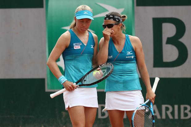 Roland-Garros: Kirsten Flipkens en quarts de finale du double dames