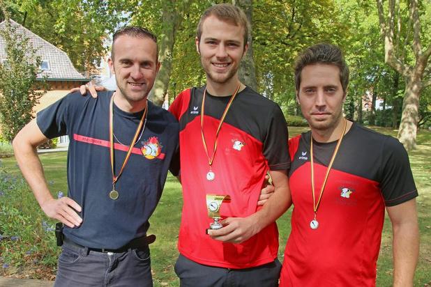 Brandweer Lichtervelde wint BK Straalpijpwerpen