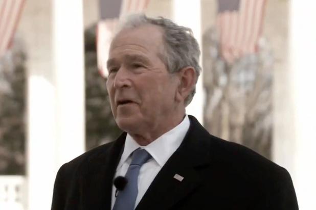 Bush se réinvente en défenseur de l'immigration