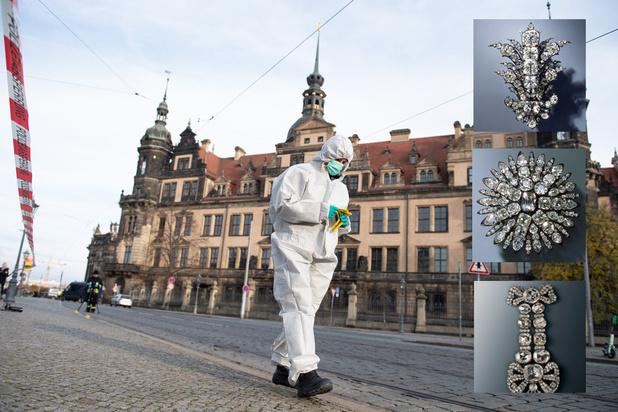 """L'Allemagne sous le choc après un vol de bijoux """"inestimables"""" dans un musée"""