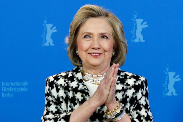 Hillary Clinton stelt docu over haar leven voor op de Berlinale: 'Maar ik kijk nog steeds vooruit'