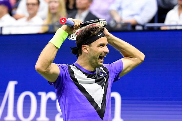 US Open: Roger Federer éliminé en quarts de finale par Grigor Dimitrov