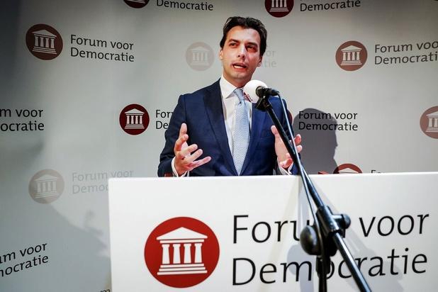 Tweede man Forum voor Democratie: Baudet te rechts en te ijdel