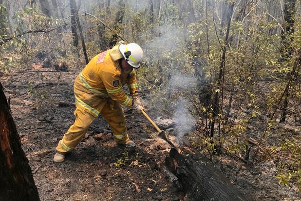 Australische brandweervrijwilligers krijgen uiteindelijk toch vergoeding