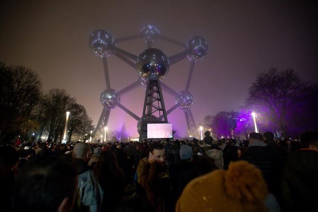 Nouvel An 2020 : des festivités réussies à l'Atomium