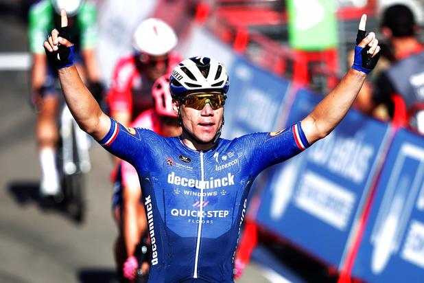 Vuelta : Jakobsen le revenant remporte la 4e étape