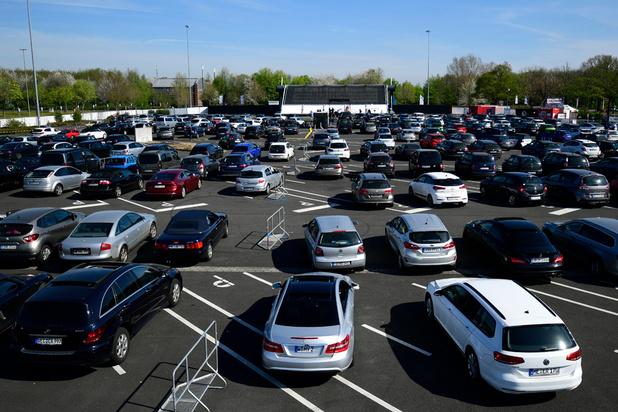 Le marché automobile européen chute de 55% en mars