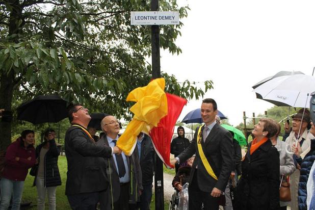 Legendarische vroedvrouw Leontine Demey krijgt park naar haar vernoemd in Oostende