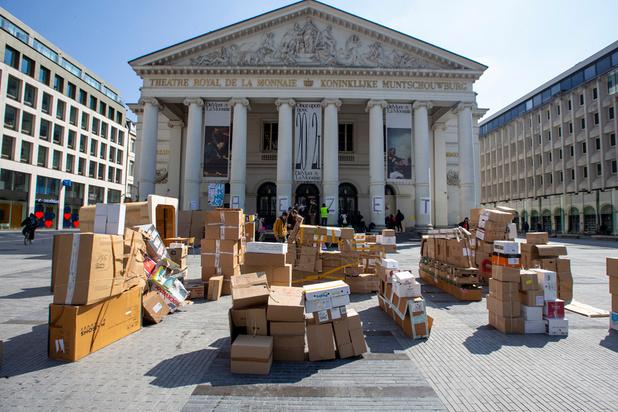 Occupation de la Monnaie à Bruxelles: le collectif et la direction du théâtre négocient