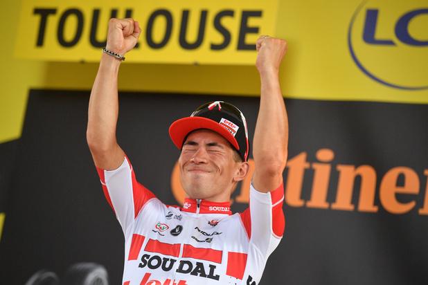 Caleb Ewan gagne au sprint la 11e étape à Toulouse, Alaphilippe toujours en jaune