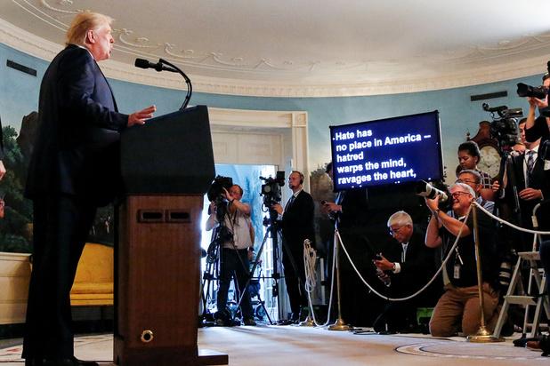 Trump wil doodstraf voor daders schietpartijen (video)
