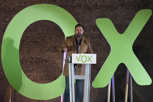 L'extrême droite Vox va doubler ses sièges au parlement espagnol