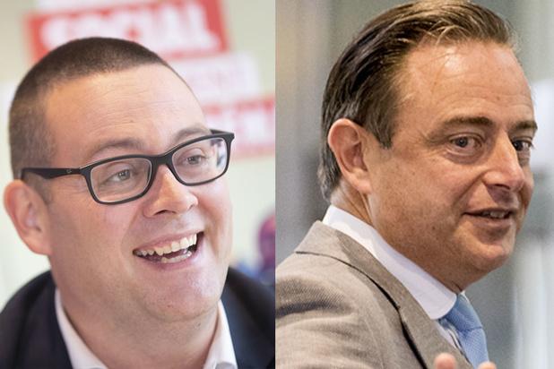 De Wever et Hedebouw, les têtes de liste les plus populaires