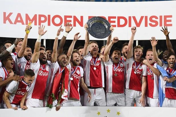 L'Ajax est champion pour la 34e fois de son histoire