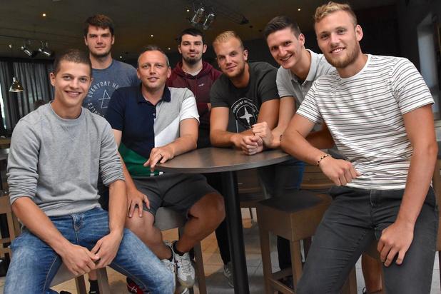 Decospan Volley Team Menen verwelkomt zes jonge nieuwkomers