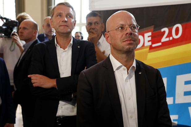 Forte poussée de l'extrême droite lors d'élections régionales en Allemagne